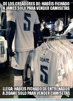Los mejores memes del Real Madrid-Deportivo: Jornada 19 zidane