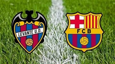 Alineación y previa Levante-Barcelona. Jornada 23