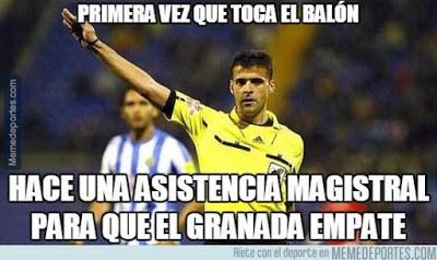 Los mejores memes del Granada-Real Madrid: Jornada 23