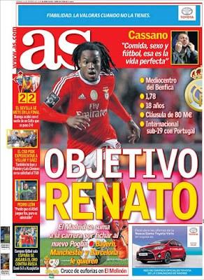 Portada AS: Objetivo Renato