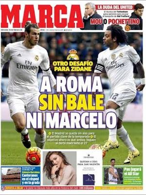 Portada Marca: A Roma sin Bale ni Marcelo