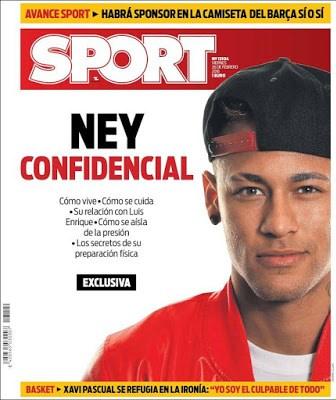 Portada Sport: Ney confidencial