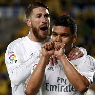 Las Palmas 1-Real Madrid 2. Jornada 29 Liga Española