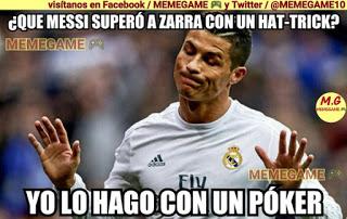 Los memes del Real Madrid-Celta más divertidos. Liga BBVA poker cristiano supera zarra