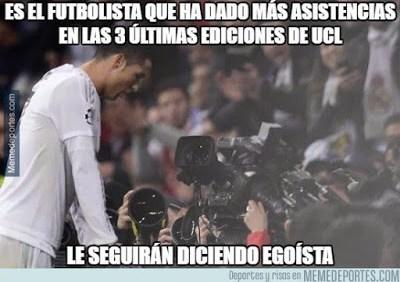 Los memes más divertidos del Real Madrid-Roma: Octavos Champions cristiano ronaldo gol