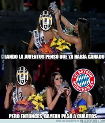 Los memes del sorteo de cuartos de Champions League 2016 juventus bayern