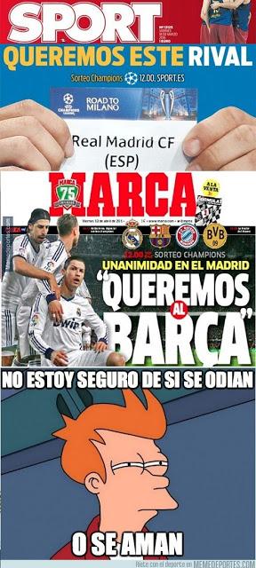 Los memes del sorteo de cuartos de Champions League 2016 portadas marca y sport