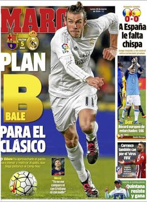 Portada Marca: Plan Bale para el Clásico