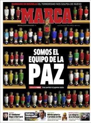 Portada Marca: Somos el equipo de La Paz