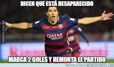 Los memes del Barcelona-Atlético Madrid más divertidos: Cuartos Champions suarez