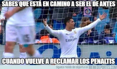 Los memes del Real Madrid-Eibar más divertidos. Liga BBVA cristiano ronaldo penalti