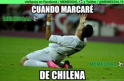 Los memes del Real Madrid-Eibar más divertidos. Liga BBVA cristiano chilena