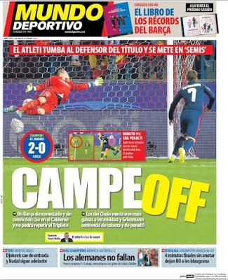 Portada Mundo Deportivo: Campeoff