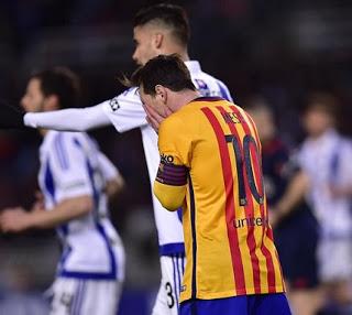 Real Sociedad 1-Barcelona 0. Jornada 32