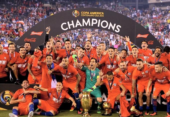 imágenes Chile Campeón Copa América 2016