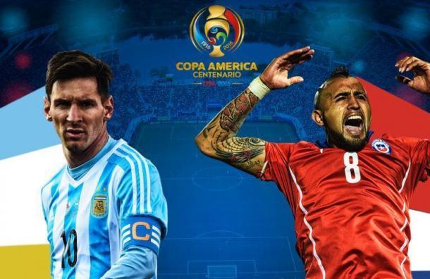 Argentina-Chile Final Copa America