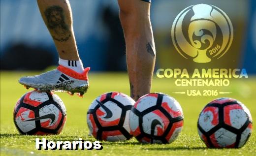 Horarios Copa América 2016