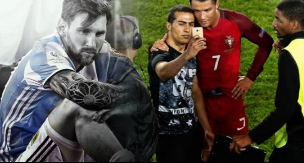 Fútbol Respect 2016 Momentos inolvidables messi cristiano ronaldo