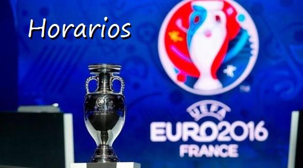 Horarios Eurocopa Francia