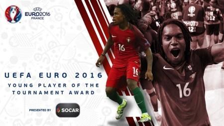Mejor jugador joven de la EURO: Renato Sanches