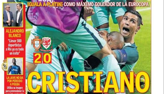 Portugal finalista Eurocopa