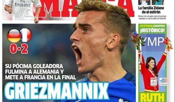 Francia finalista Eurocopa