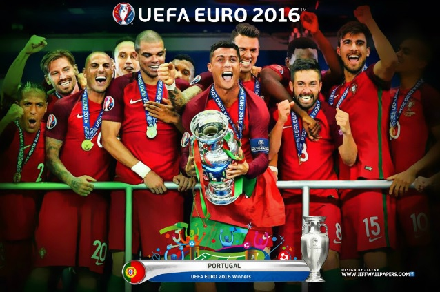 Once ideal Eurocopa 2016 portugal campeon