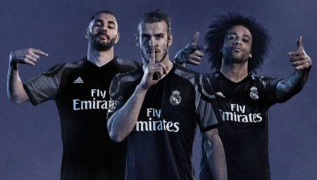 Tercera camiseta Real Madrid 2016-2017