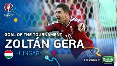 Zoltan Gera mejor gol Eurocopa 2016