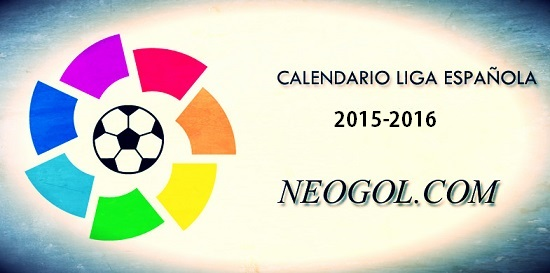 Calendario Liga Española 2015-2016   Resultados