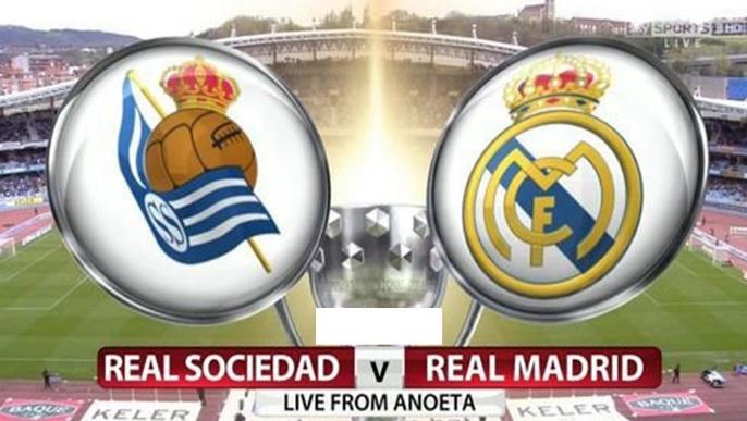 Alineación Real Sociedad-Real Madrid Jornada 1