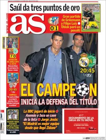 portada-as-real-madrid-debut-champions-2016