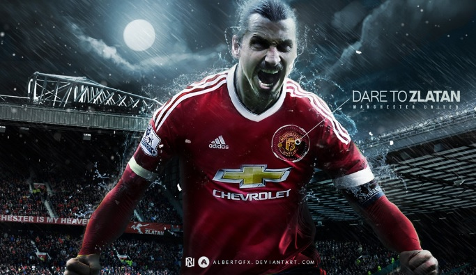 Zlatan Ibrahimovic The Monster   Manchester United