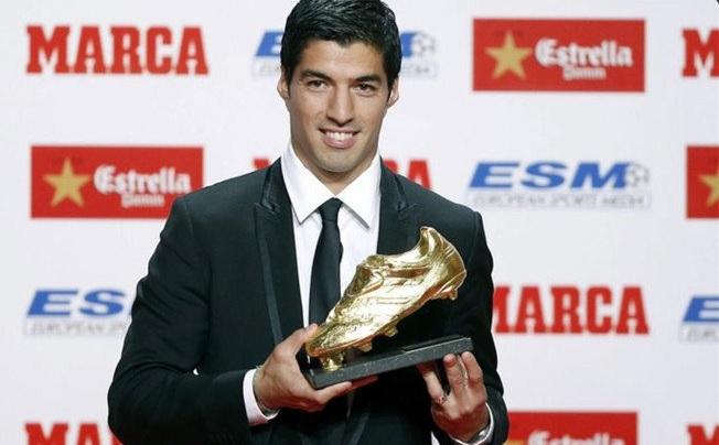 Luis Suárez Bota de Oro 2016