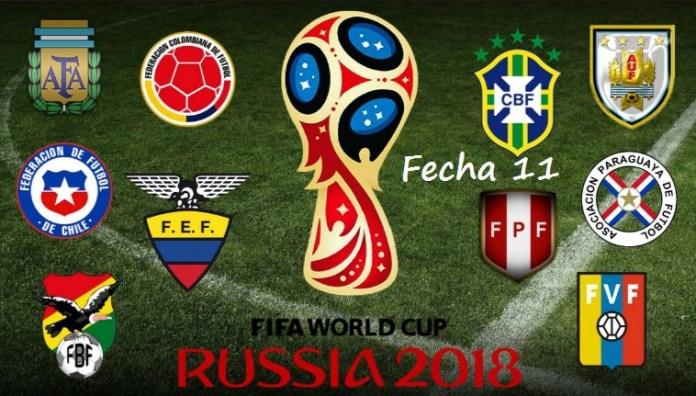 Eliminatorias Sudamericanas Fecha 11