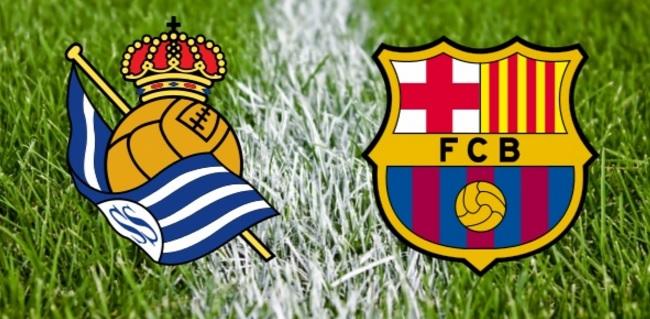 Alineación Real Sociedad-Barcelona