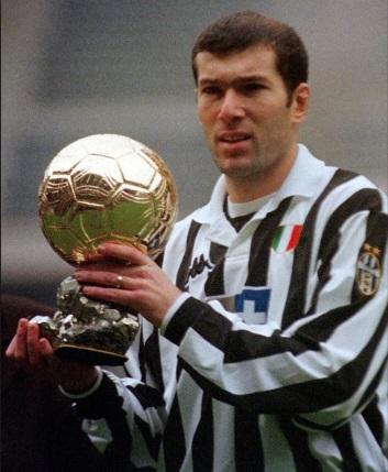 Zinedine Zidane Balón de Oro 1998