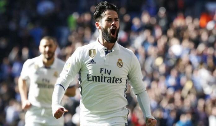 Real Madrid-Granada 2017 isco alarcon gol