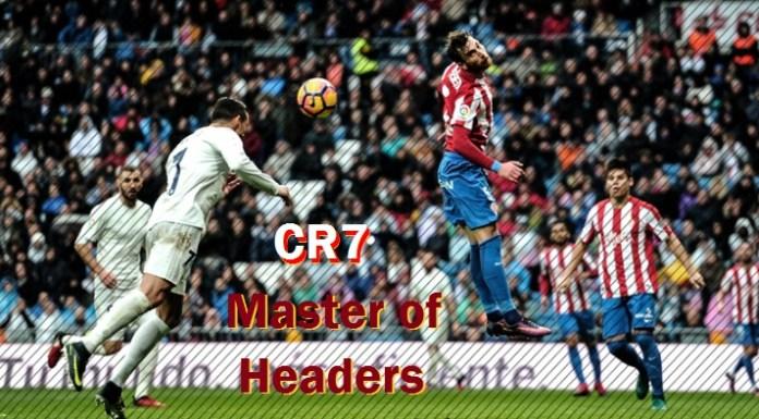 Cristiano Ronaldo goles de cabeza