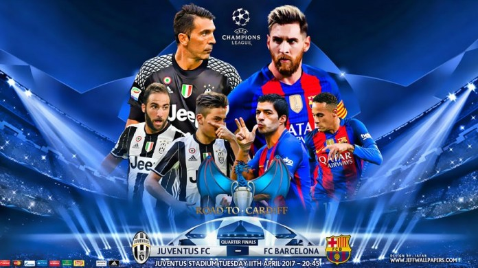 Juventus-Barcelona Champions League 2017
