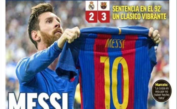 Sant Messi liquida el clásico