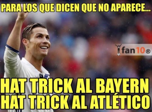Memes Real Madrid-Atlético 2017