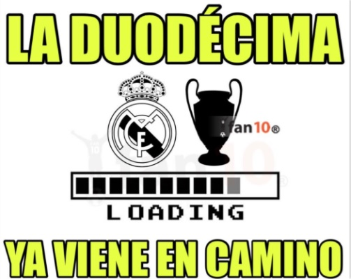 Memes Atlético-Real Madrid Champions 2017