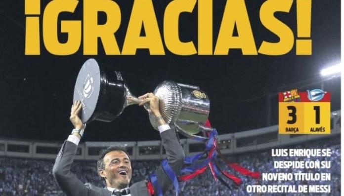 El Barça vence al Alavés y es Campeón de la Copa del Rey