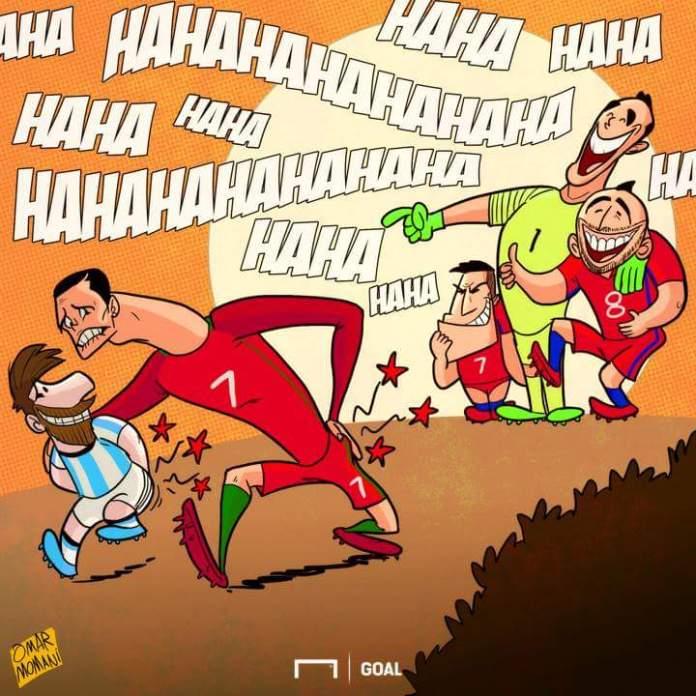 Memes Portugal-Chile ConfedCup 2017