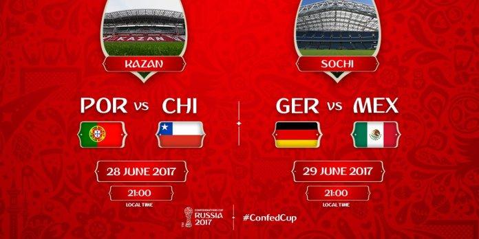 Semifinales Copa Confederaciones 2017