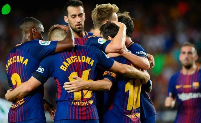 Barcelona-Betis 2017