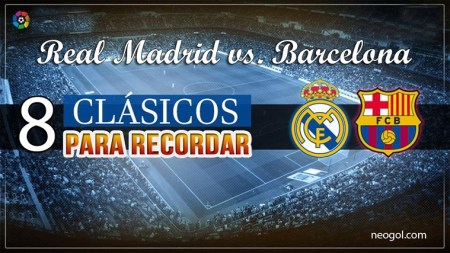 Los mejores clásicos Real Madrid-Barcelona 2000-2010