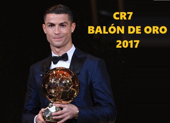 Cristiano Ronaldo Balón de Oro 2017