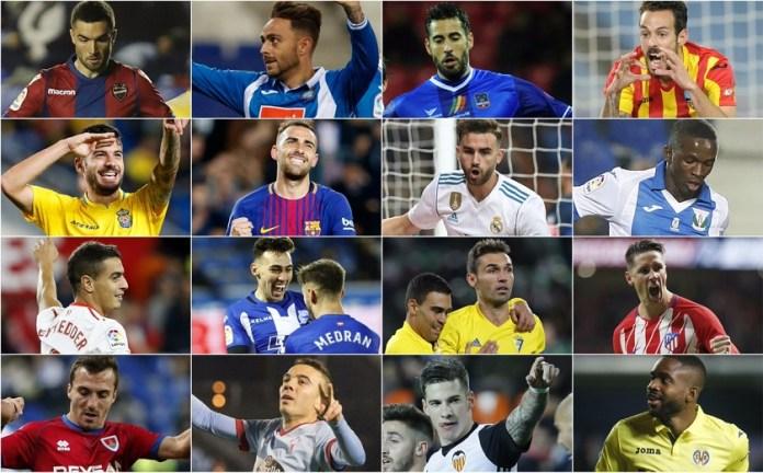 Alineaciones Jornada 14 Liga Santander